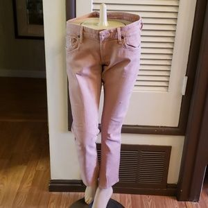Citizens of Humanity The High Rise Skinny Bleached